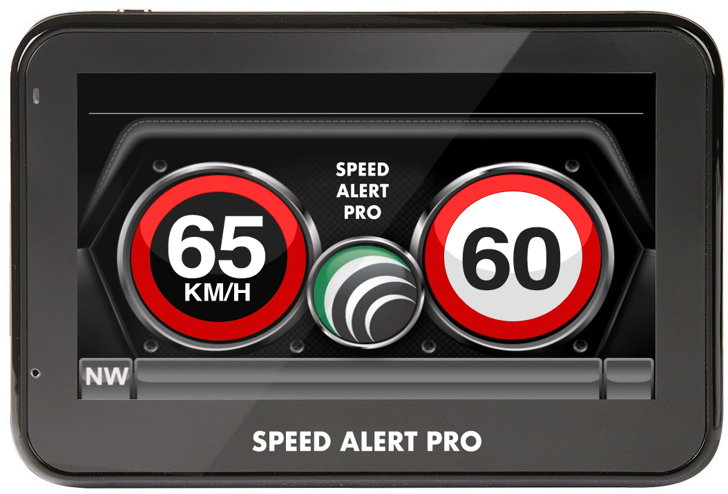 SPEED ALERT PRO AUSTRALIA FRONT VIEW