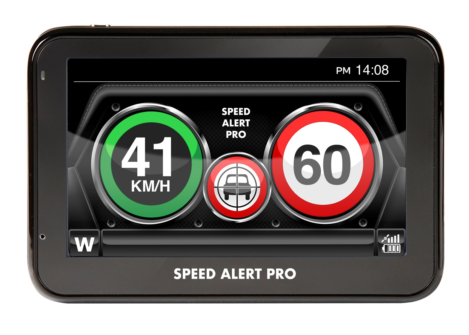 SPEED ALERT PRO MAKES IT EASY TO STAY WITHIN CORRECT SPEED LIMIT