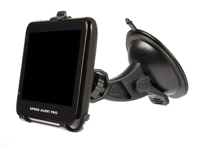 SPEED ALERT PRO SIDE VIEW WITH SUCTION HOLDER