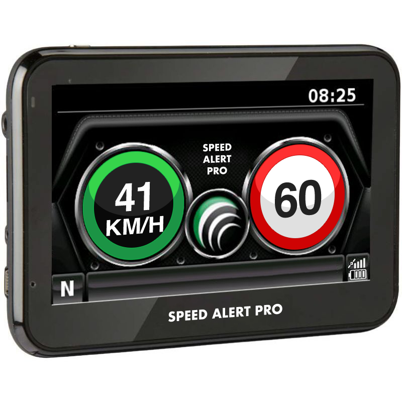SPEED ALERT PRO = NEW DEVICE TO STOP SPEEDING FINES