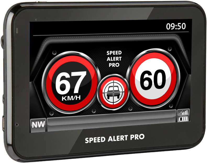 SPEED ALERT PRO DEVICE TELLS YOU WHEN YOU ARE SPEEDING